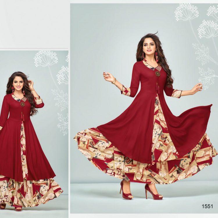 Women Casual Indian Cotton Long Kurti Tunic Kurta Tank Top Shirt Dress - K2560 SIZE - M,L,XL