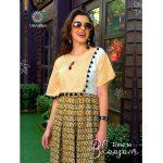 Women Casual Indian Cotton Long Kurti Tunic Kurta Tank Top Shirt Dress - K250 SIZE - M,L,XL