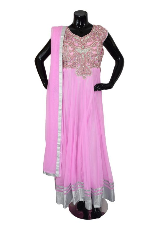 INDIAN FLOOR LENGTH ANARKALI SUIT – A507 1