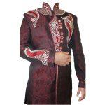 Men,S Red Sherwani Kurta Pajama -GR04 …