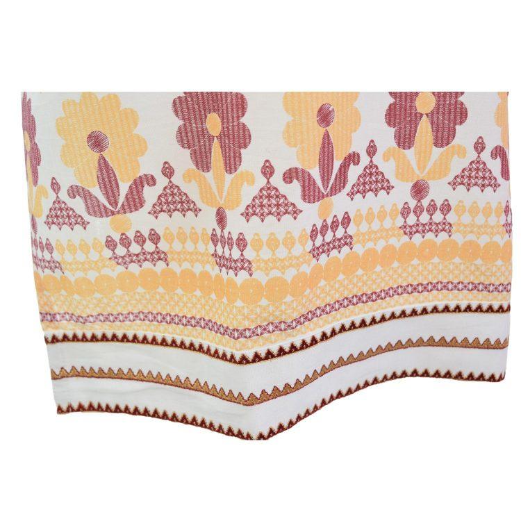 Women Casual Indian Brown Long Kurti