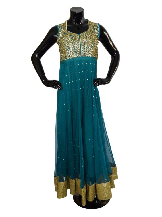 INDIAN FLOOR LENGTH ANARKALI SUIT - A501