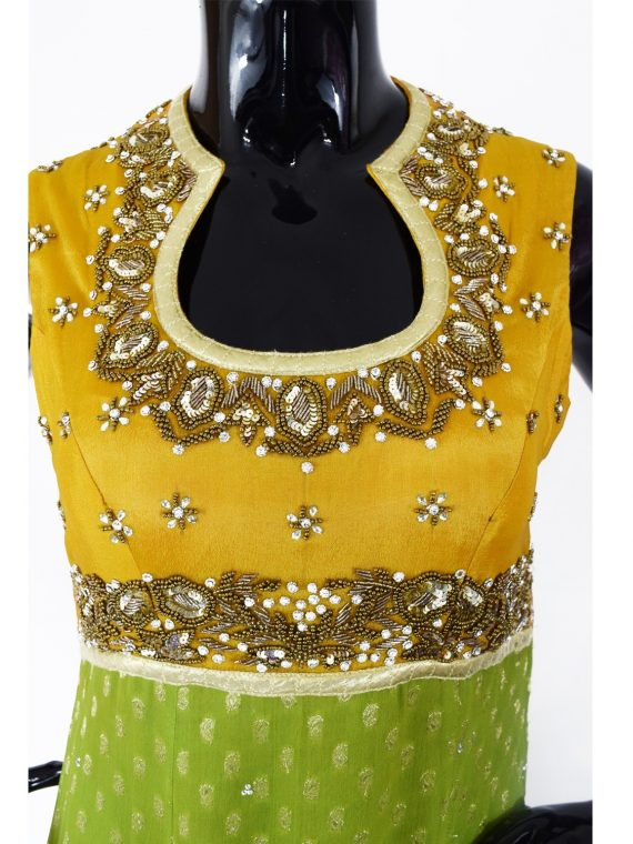 INDIAN FLOOR LENGTH ANARKALI SUIT - A509
