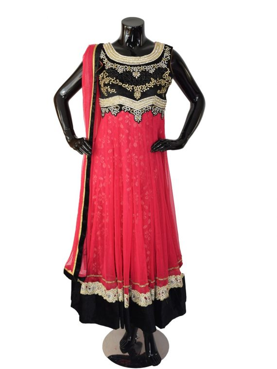 INDIAN FLOOR LENGTH ANARKALI SUIT – A510 1