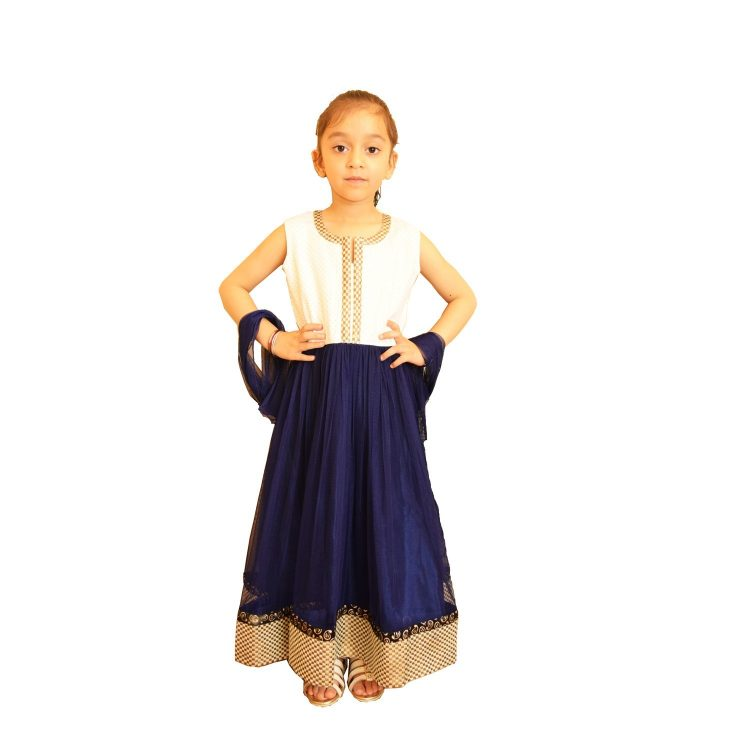 Girl's Indian Anarkali Churidar Frock Suit MGA100
