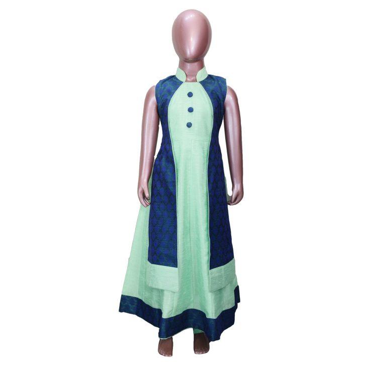 Kid's Girl's Indian Anarkali Frock Dress DGA100