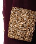 Bespoke beautiful Red Sherwani Outfit Code: 7056