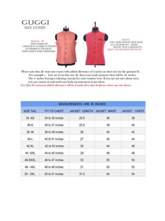 Men's Indian Jacquard Waist Coat Nehru Jacket Modi Jacket JA1000