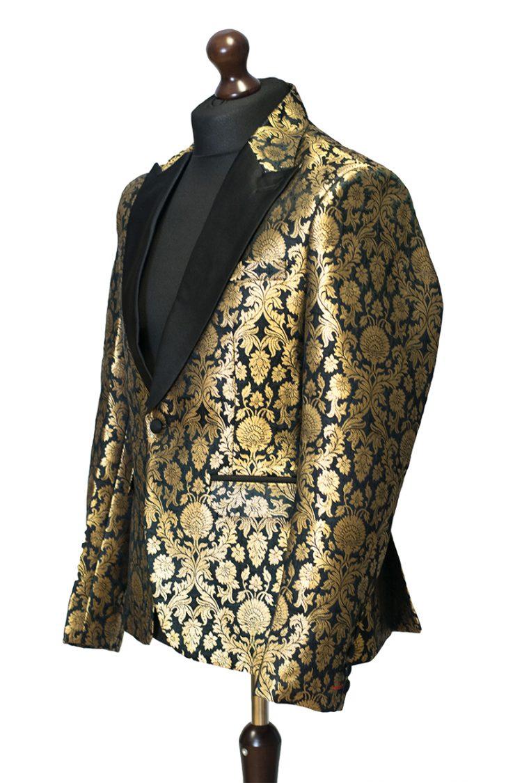 black tuxedo blazer jacket