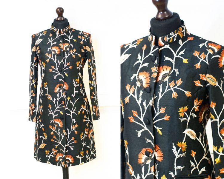 Women's Luxury Silk Coat