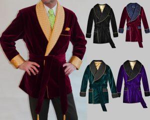 Men's smoking jacket