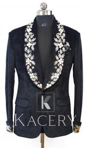 Men's embroidered blazer