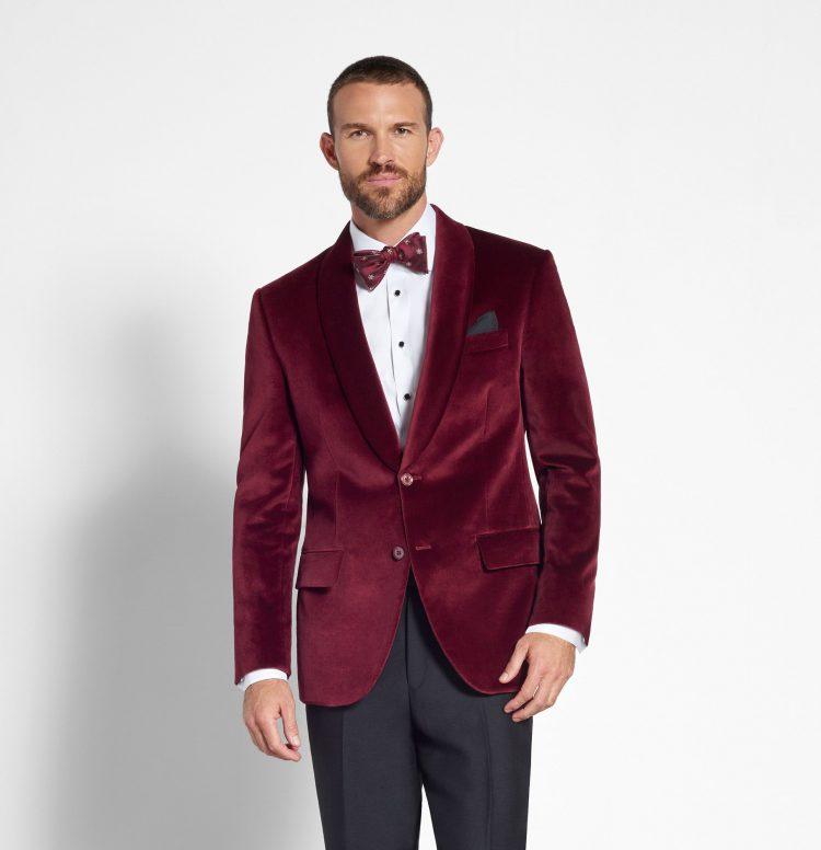 Men's brocade blazer
