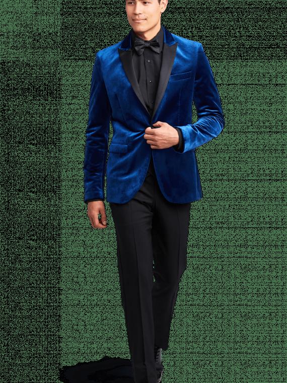 Men's embroidered tuxedo
