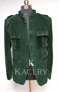 Men's military style blazer